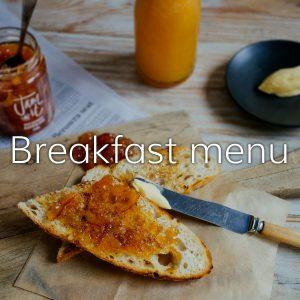 All Day Breakfast Menu